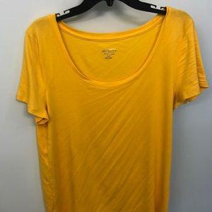 Merona yellow xxl shirt